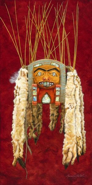 Tsimshian Dancing Headdress