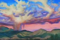Storm over Santa Fe